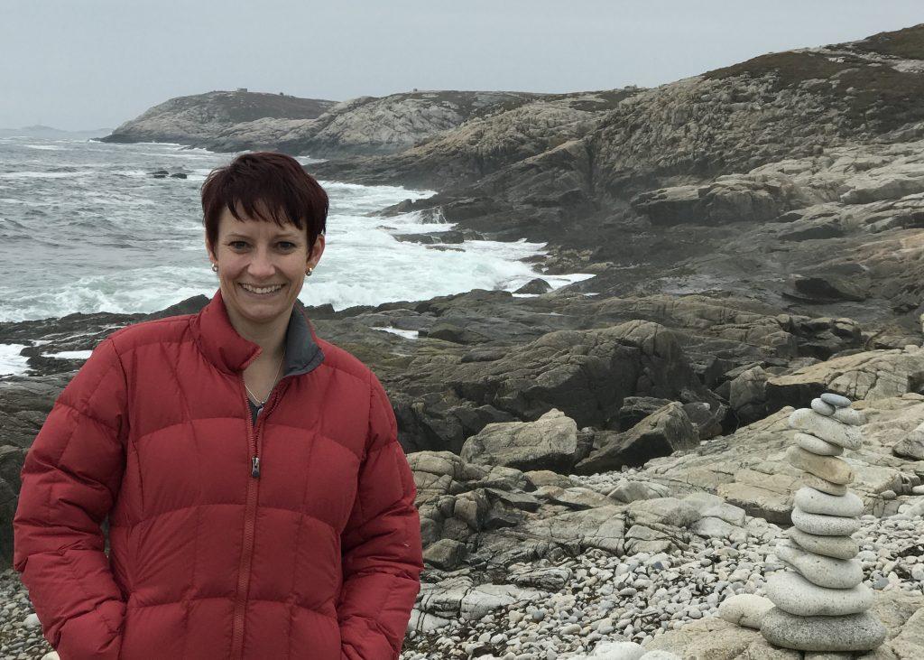 Lisa Milke at coast